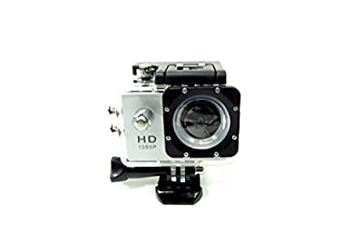 Sport Camera 1080P HD Built in WiFi and Waterproof Silver