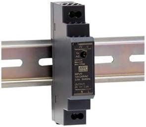 Mean Well HDR-15-15 - Fuente de alimentación para riel DIN (15 W, 12 V, 1,25 A)