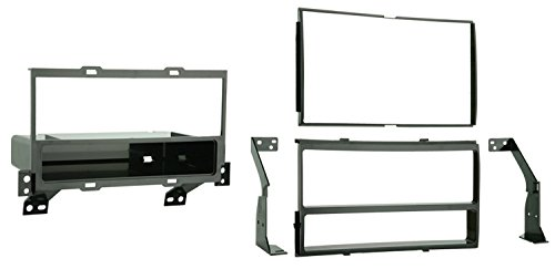 Metra 99-7422 Single DIN/Double DIN Installation Kit for 2007 Nissan Sentra (Black)