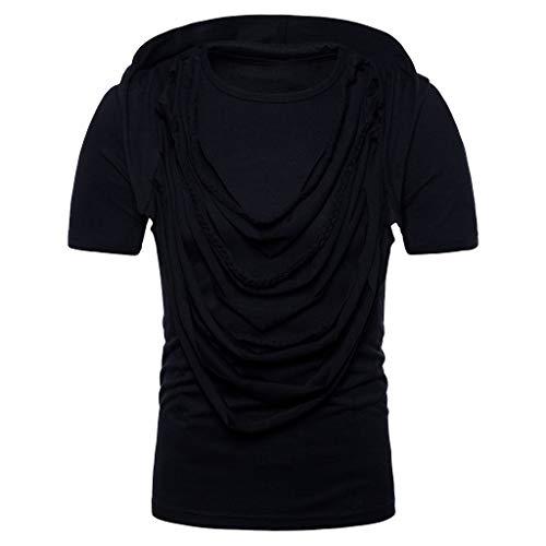 Men's Original Shirt Short Sleeve,MmNote Fashion Slim Stretch