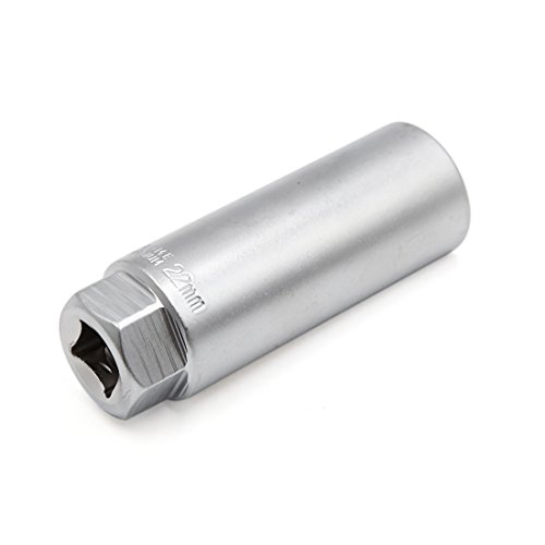uxcell Car Auto Silver Tone 22mm Oxygen Sensor Socket Removal Hand Tool by uxcell