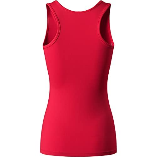 jeansian Womens 3 Packs Quick Dry Compression Tank Tops Vests Shirts SMF001