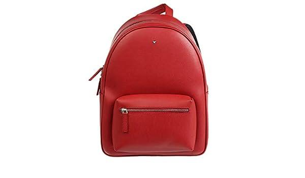 Montblanc 116753 Sartorial - Mochila (tamaño pequeño), Color Rojo: Amazon.es: Electrónica