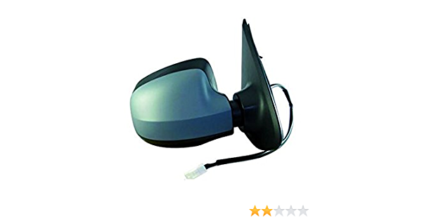 Equal Quality RD03024 Outer Right Rearview Mirror with Primer Right with Electric Control