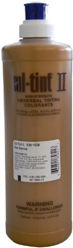 Chromaflo 830-1824 Cal-Tint II 16-Ounce Colorants, Raw Si...