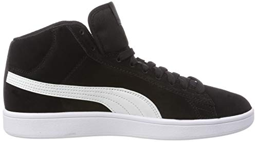 puma Mid SD Puma Baskets Noir Black Hautes Smash 1 V2 Adulte Puma Mixte White PHEqwgZpn