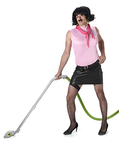 Men's Housewife Costume, for Halloween Costume Party Accessory, Medium