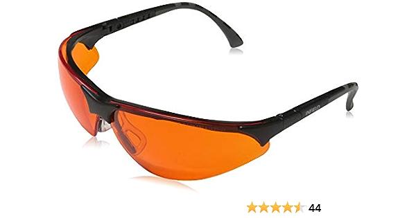 Infield Terminator - Gafas protectoras, UV 400, color naranja ...