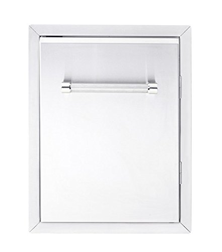 KitchenAid 780-0019 Built-in Grill Cabinet Single Access Door, 18'', Stainless by KitchenAid
