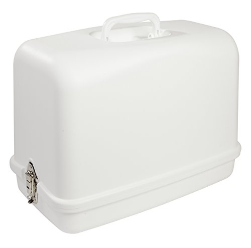 SINGER | Universal Hard Carrying Case 611.BR for Most Free-Arm Portable Sewing (Sewing Case)