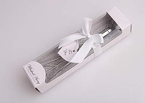 Amazon.com: Batidor de acero inoxidable con forma de corazón ...