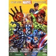 4 DVD BOX ANIMATED MARVEL COLLECTION [IRON MAN, ULTIMATE AVENGERS 1 2, DOCTOR STRANGE] [NL IMPORT]