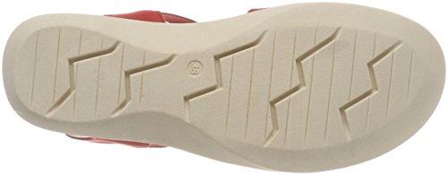 Damen 28601 Nubuc Slingback Caprice Rot Sandalen 544 Red qFY5YwdxU
