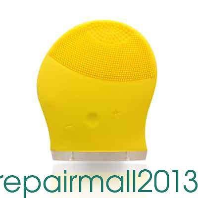 MAZIMARK--Super New Face Wash Machine Soft Silicone Facial Brush Cleanser Waterproof Hot