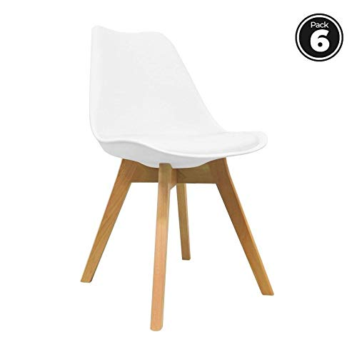 Regalos Miguel - Packs Sillas Comedor - Pack 6 Sillas Synk Basic ...