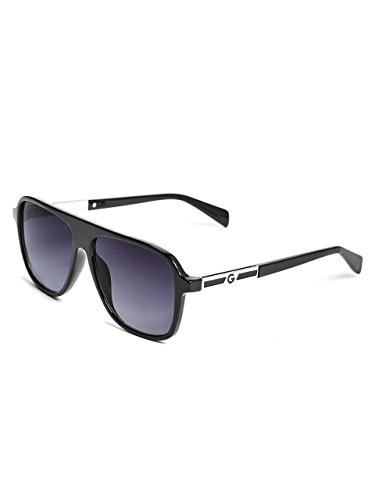 G by GUESS Men's Matte Square Frame Sunglasses