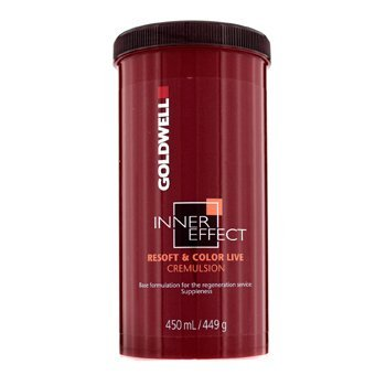 Goldwell Inner Effect Resoft and Color Live Cremulsion, 15 Ounce