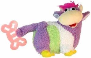 Vo-Toys Fetch n Fleece Bovine Beauty Plush Dog Toy, My Pet Supplies
