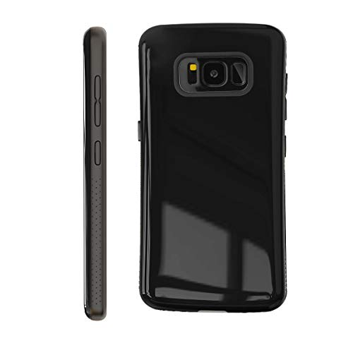 Samsung Galaxy S8 Plus Case | Premium Luxury Design | Military Grade 15ft. Drop Tested | Wireless Charging | Compatible with Samsung Galaxy S8 Plus - Black