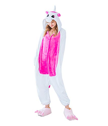 Elvis Parker AdultΧld Pajamas Animal Sleepwear Jumpsuit Cosplay Costume with Paw Shoes ()