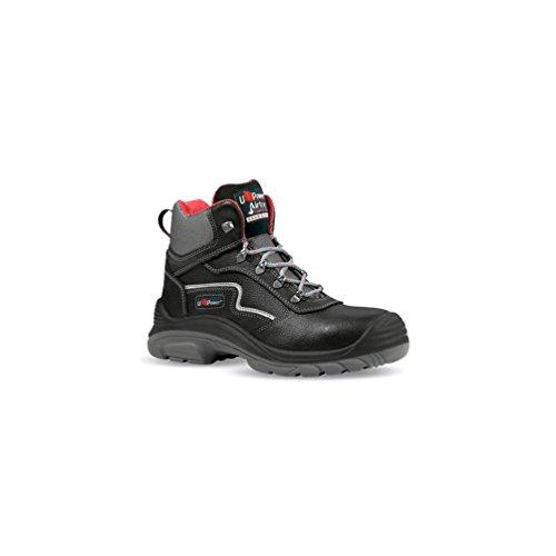 Noir Chaussure U Power de CONCEPT ROCK sécurité PLUS S3 U BLACK Power Gris haute SRC 6FqWUWw5