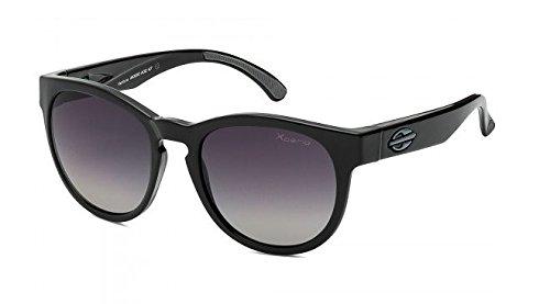 Mormaii Ventura Sunglasses, Shiny Black with Gradient Gray Polarized - Sunglasses Mormaii