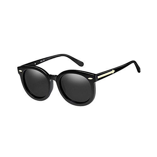 Sunglasses Mujer 1 Round Color Polarizers 3 de UV Sol DT Gafas Face Gafas Sol de CqPxHaw
