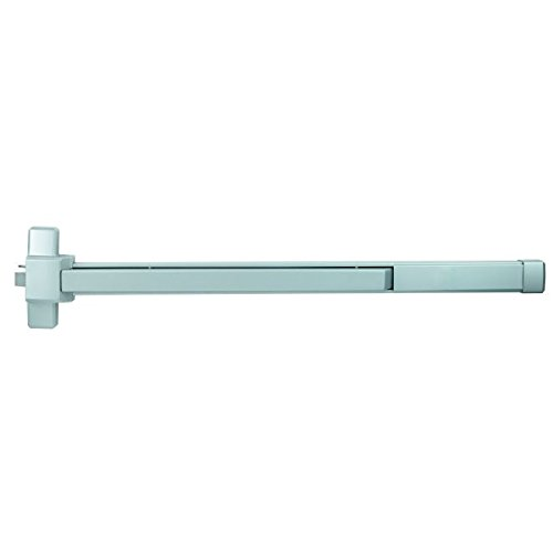 Fire Rated Collection - Stanley Commercial Hardware Commercial Standard Duty Rim Exit Device with Fire Rated for 4' Wide Door from the QED300 Collection, Painted Aluminum Finish