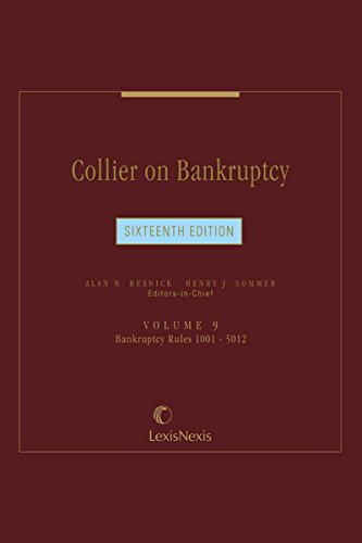 Collier on Bankruptcy, Volume 9