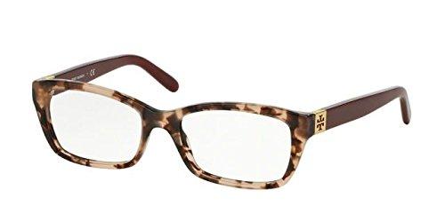 TORY BURCH Eyeglasses TY 2049 Eyeglasses 1363 Blush Tortoise Milky Cabernet - Burch Sunglasses Prescription Tory