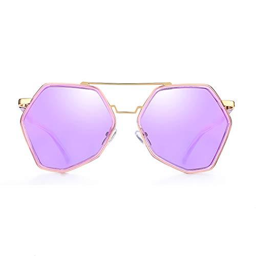 Driving à Soleil polarisée Tendance lunettes Lunettes A Sport Femme B Mirror soleil de Couleur de de personnalité Des 0OxRHvwH