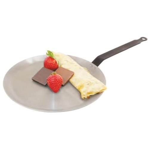 Paderno Heavy Duty Carbon - World Cuisine 512012 Heavy Duty Carbon Steel Crepe Pan H: 3/8 In Dia: 4 3/4 In - 4 per case