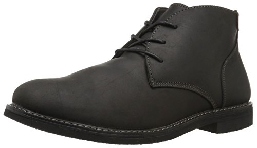 Mens Black Suede Boot - Nunn Bush Men's Lancaster Chukka Boot, Black, 10.5 M US
