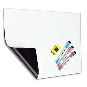 A3 Pizarra Magnética Tablero Blanco de MZMing-Refrigerador Pizarra ...