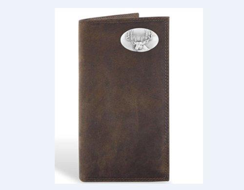 Deer - Leather Crazy Horse Brown Long Roper (Brown Long Roper Wallet)