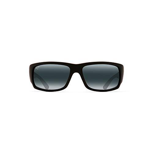 Maui Jim World Cup 266-02MR | Sunglasses |, Matte Black Rubber, with Patented PolarizedPlus2 Lens Technology