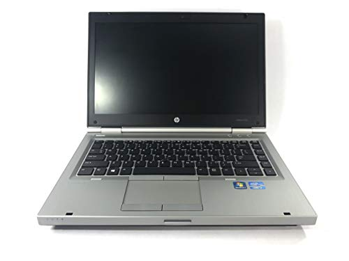 HP Elitebook 8470p Laptop - Core i5 3320m 2.6ghz - 8GB DDR3 - 128GB SSD - DVDRW - Windows 10 64bit - (Renewed) (Hp Laptop Computers Windows 7)