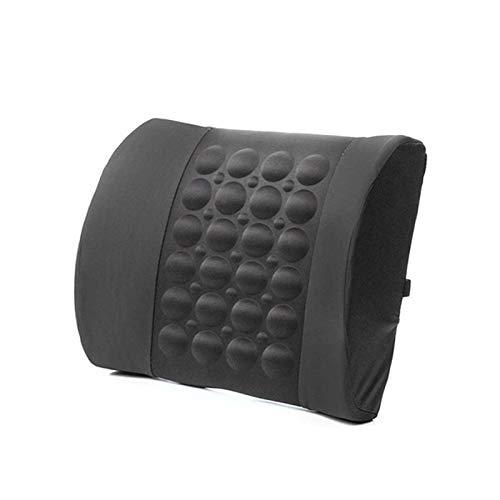 Go Cart Go Convenient 4 Colors Car Back Lumbar Posture Support Electrical Massage Cushion Pillow 12V Health Care Tool
