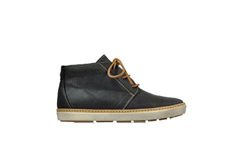 Wolky encaje hasta botas 9451Cardiff 500 black leather