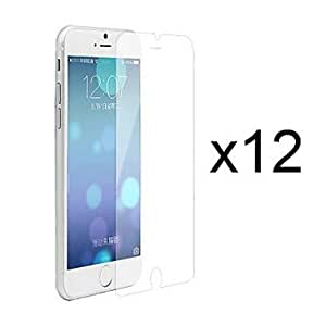 Ships in 24 hours 12 x Clear Screen Protector with Cleaning Cloth for iPhone 6