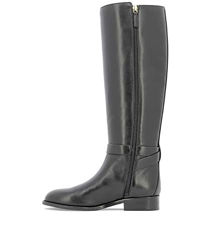Tory Burch Negro Cuero Mujer Botas 51529006 rrPxdY