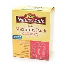 Nature Made Maximin Pack Daily Supplement Packets for Men and Women by Nature Made