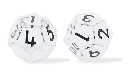 Number Dice (for the Overhead)