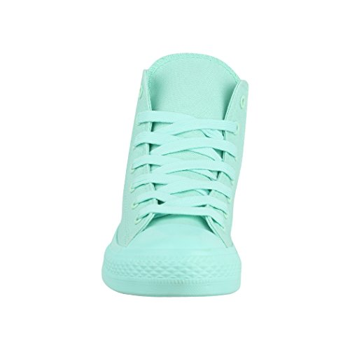 One De Baskets Unisex Sneaker High Chunkyrayan Unisexe Colour Damen Herren Elara Mint Top qPgBwUfU