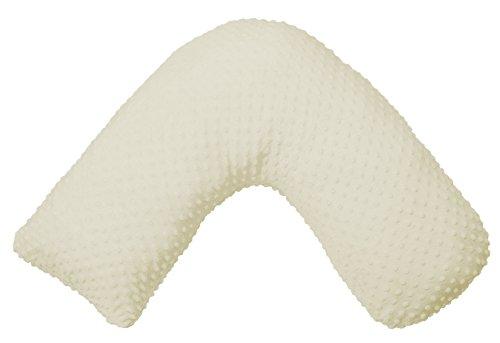 Jolly Jumper Boomerang Nursing Cushion, Cream