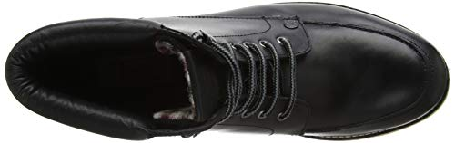 801 Penguin Stivali Black Frange Leather Uomo Original Clondyke con Le Black 7vBaxw1qfw