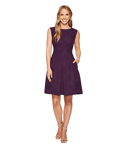Anne Klein Women's Inverted Pleat Fit & Flare Dress Phoenix 2