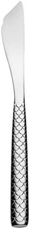 """Alessi\""""Colombina fish\"""" Fish Serving Knife in 18/10 Stainless Steel Mirror Polished, Silver"""