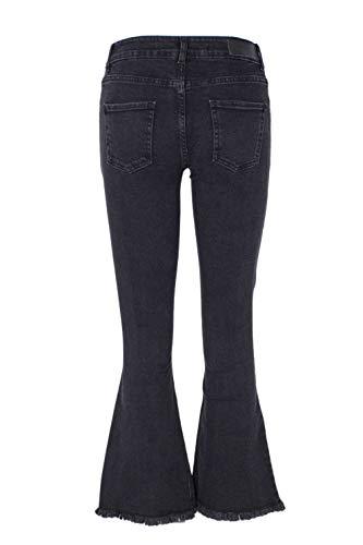 Donna Nero Rd01f977blk Cotone Revise Jeans wXxq8OOI5