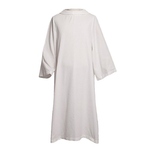 BLESSUME Catholic Church Hooded Alb Robe by BLESSUME